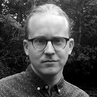 Adrian vom Baur, Berliner Illustrator und Comiczeichner, Profilfoto